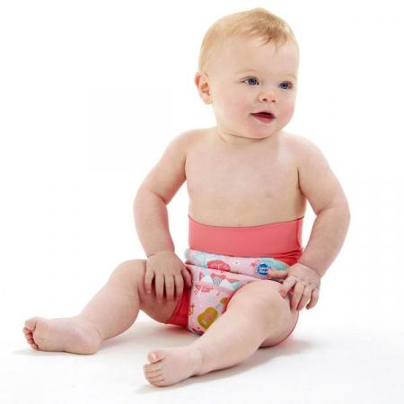 Slip înot/scutec de apă bebeluşi - Happy Nappy™ Bufnițe şi Pisicuțe2