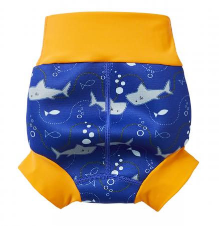 Slip înot/scutec de apă bebeluşi - Happy Nappy™ Rechinii Simpatici1