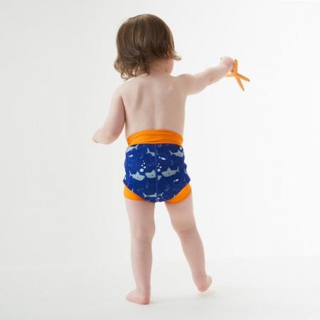 Slip înot/scutec de apă bebeluşi - Happy Nappy™ Rechinii Simpatici3
