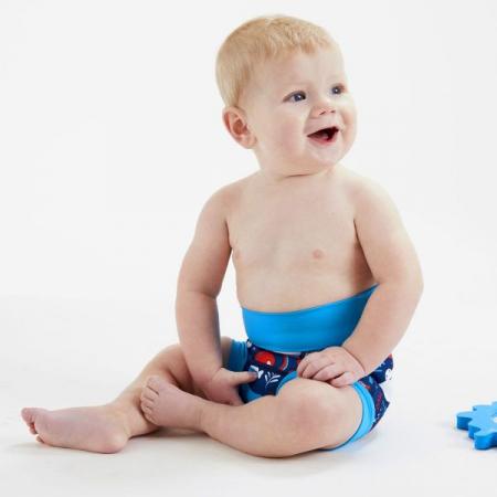 Slip înot/scutec de apă bebeluşi - Happy Nappy™ Din Ocean3