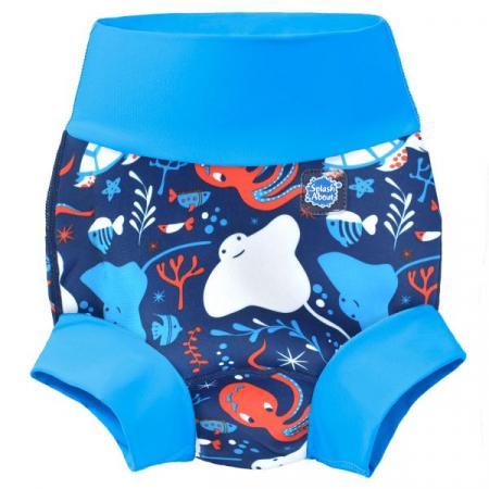Slip înot/scutec de apă bebeluşi - Happy Nappy™ Din Ocean0