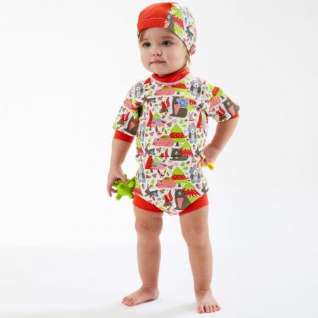 Costum neopren/scutec bebeluşi - Happy Nappy™ Din Pădure3