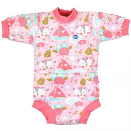 Costum neopren/scutec bebeluşi - Happy Nappy™ Bufnițe şi Pisicuțe0