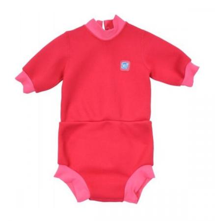 Costum neopren/scutec bebeluşi - Happy Nappy™ Roz Geraniu0