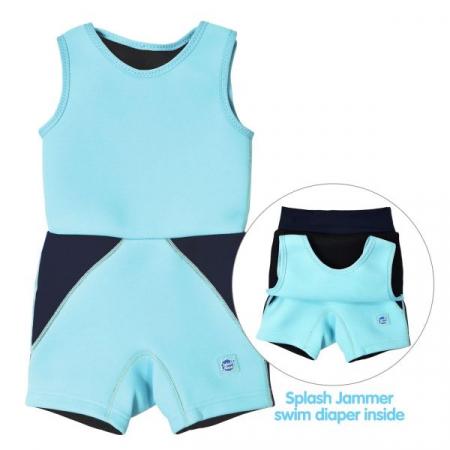 Costum neopren copii - Jammer Wetsuit Albastru Cobalt3