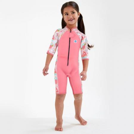 Costum neopren copii - Shorty Wetsuit Bufnițe şi Pisicuțe2