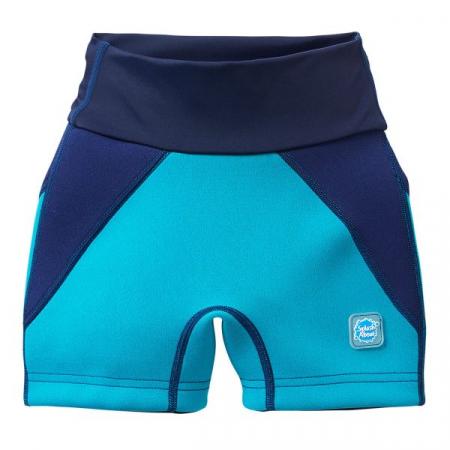 Pantalon scurt înot/incontinență copii - Splash Jammers Marin/Jad0