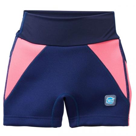 Pantalon scurt înot/incontinență copii - Splash Jammers Marin/Roz0
