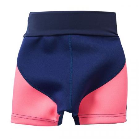 Pantalon scurt înot/incontinență copii - Splash Jammers Marin/Roz1