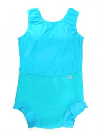 Costum înot/incontinență copii - Splash Costume Turcoaz0