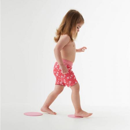 Pantalon scurt înot copii - Splash Jammers Flori Rozalii3