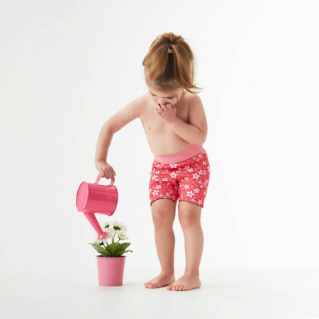 Pantalon scurt înot copii - Splash Jammers Flori Rozalii2