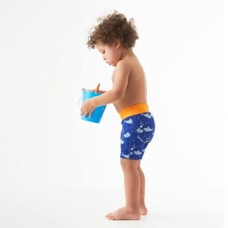 Pantalon scurt înot copii - Splash Jammers Rechinii Simpatici2