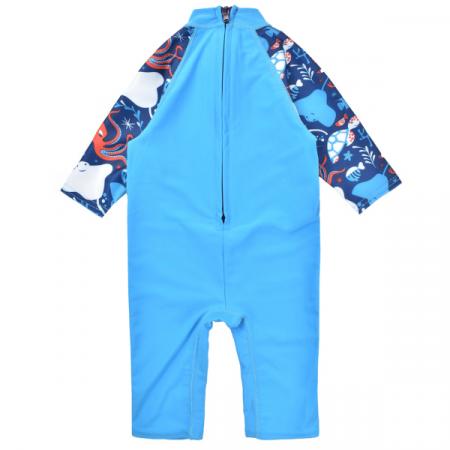 Costum protecție UV copii - Toddler UV Sunsuit Din Ocean1