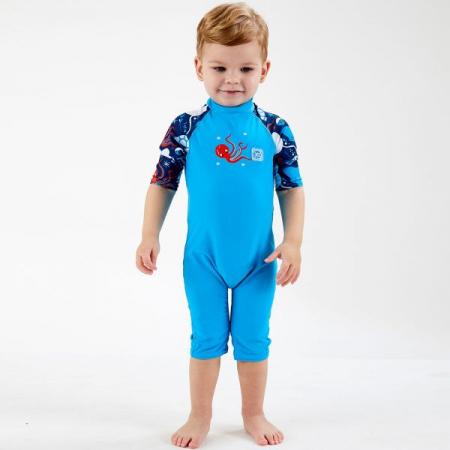 Costum protecție UV copii - Toddler UV Sunsuit Din Ocean2