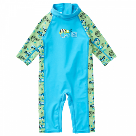 Costum protecție UV copii - Toddler UV Sunsuit Gegoşii Verzi0
