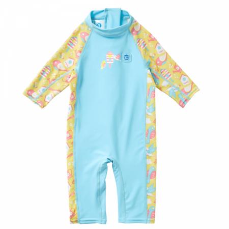 Costum protecție UV copii - Toddler UV Sunsuit Păsări de Grădină0