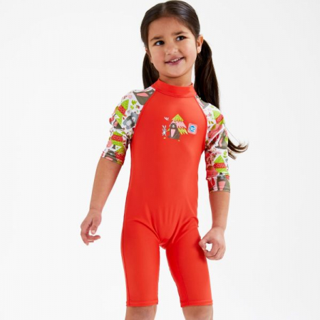 Costum protecție UV copii - Toddler UV Sunsuit Din Pădure3