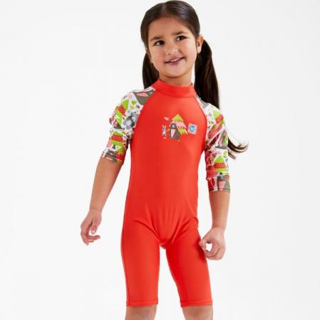 Costum protecție UV copii - Toddler UV Sunsuit Din Pădure [3]