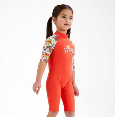 Costum protecție UV copii - Toddler UV Sunsuit Din Pădure2