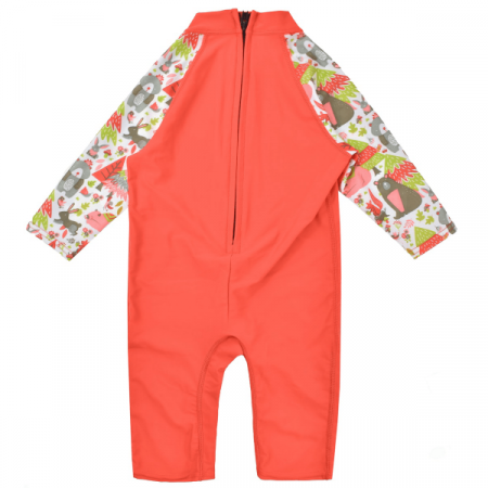 Costum protecție UV copii - Toddler UV Sunsuit Din Pădure1