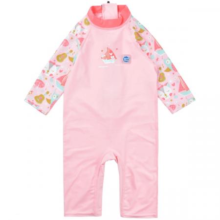 Costum protecție UV copii - Toddler UV Sunsuit Bufnițe şi Pisicuțe0