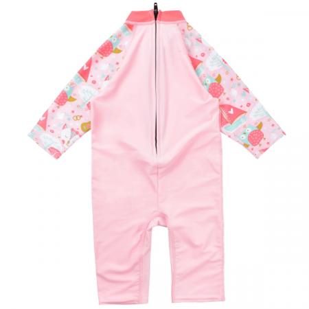Costum protecție UV copii - Toddler UV Sunsuit Bufnițe şi Pisicuțe1