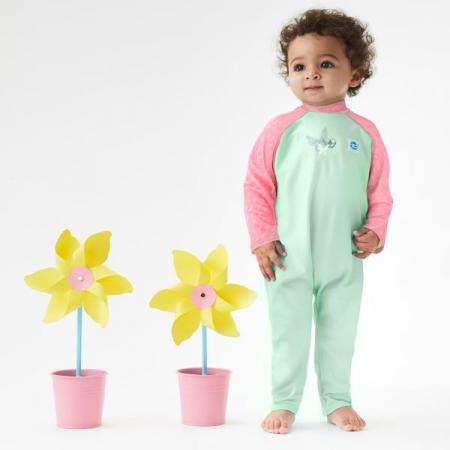 Costum protecție UV bebeluşi - UV All In One Libelule2