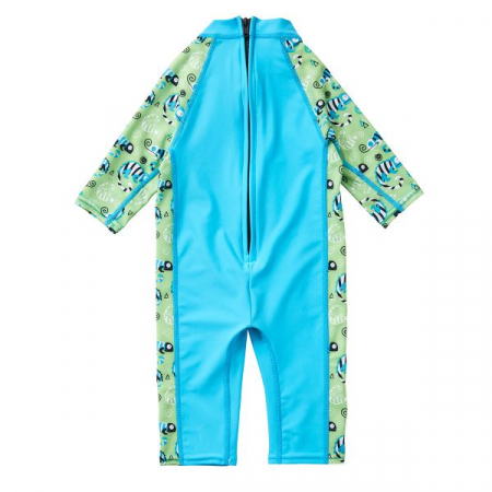 Costum protecție UV bebeluşi - UV All In One Gegoşii Verzi1