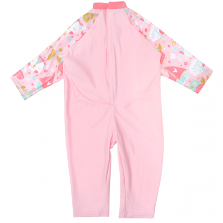 Costum protecție UV bebeluşi - UV All In One Bufnițe şi Pisicuțe1