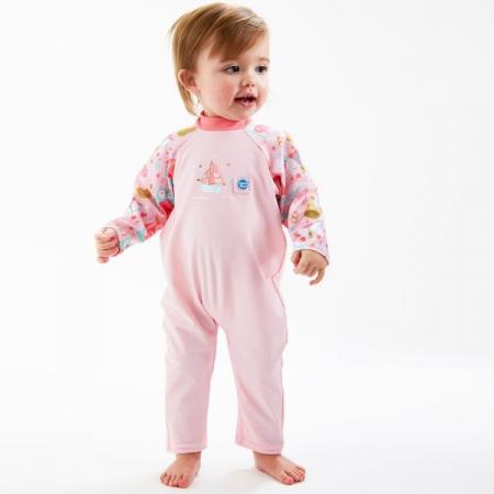 Costum protecție UV bebeluşi - UV All In One Bufnițe şi Pisicuțe3