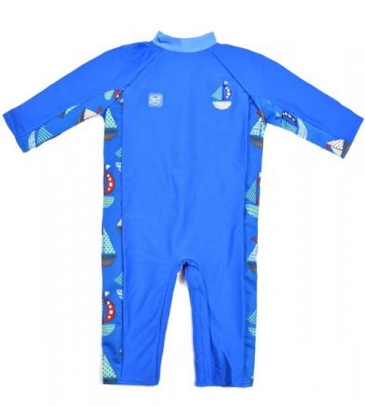 Costum protecție UV bebeluşi - UV All In One Micul Navigator0