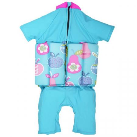 Costum înot plutitor/protecție UV copii-UV Floatsuit Multe Fructe1