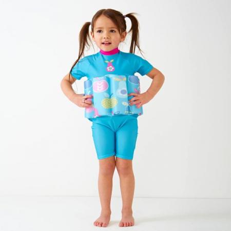 Costum înot plutitor/protecție UV copii-UV Floatsuit Multe Fructe2