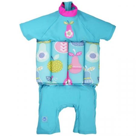 Costum înot plutitor/protecție UV copii-UV Floatsuit Multe Fructe0