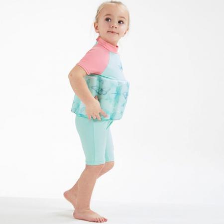 Costum înot plutitor/protecție UV copii-UV Floatsuit Libelule3
