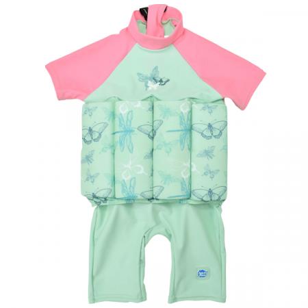 Costum înot plutitor/protecție UV copii-UV Floatsuit Libelule0