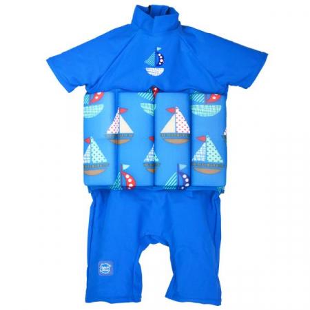 Costum înot plutitor/protecție UV copii-UV Floatsuit Micul Navigator0