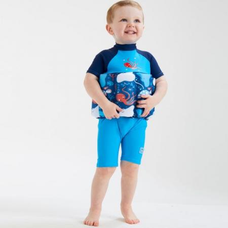 Costum înot plutitor/protecție UV copii-UV Floatsuit Din Ocean2