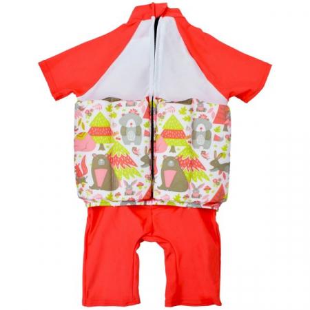 Costum înot plutitor/protecție UV copii-UV Floatsuit Din Pădure1