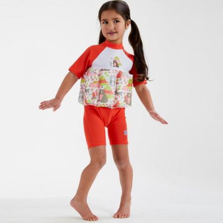 Costum înot plutitor/protecție UV copii-UV Floatsuit Din Pădure3