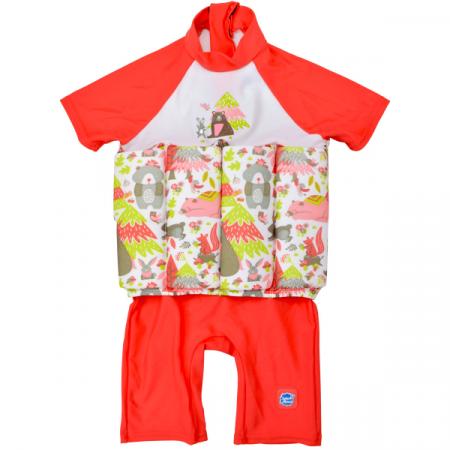 Costum înot plutitor/protecție UV copii-UV Floatsuit Din Pădure0