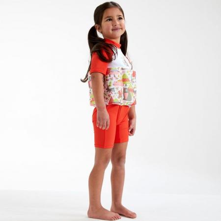 Costum înot plutitor/protecție UV copii-UV Floatsuit Din Pădure2