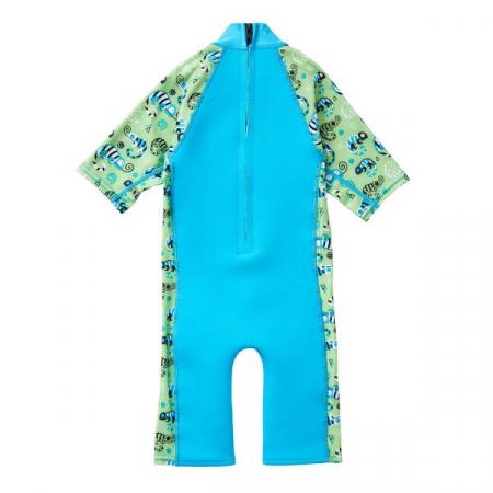Costum protecție UV/neopren copii - UV Sun & Sea Gegoşii Verzi1