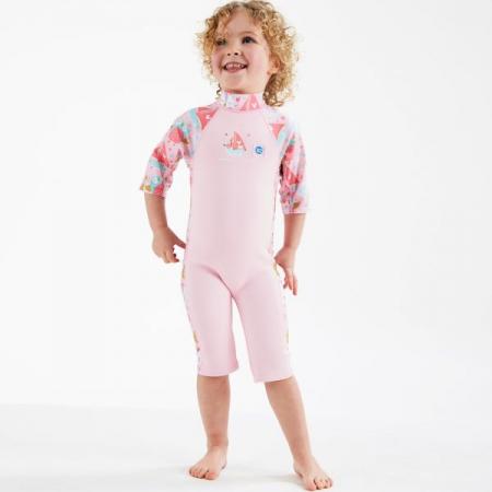 Costum protecție UV/neopren copii - UV Sun & Sea Bufnițe şi Pisicuțe3