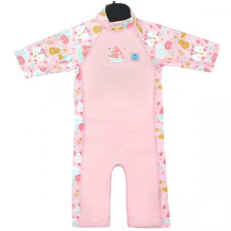 Costum protecție UV/neopren copii - UV Sun & Sea Bufnițe şi Pisicuțe0