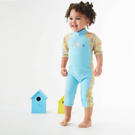Costum protecție UV/neopren copii - UV Sun & Sea Păsări de Grădină2
