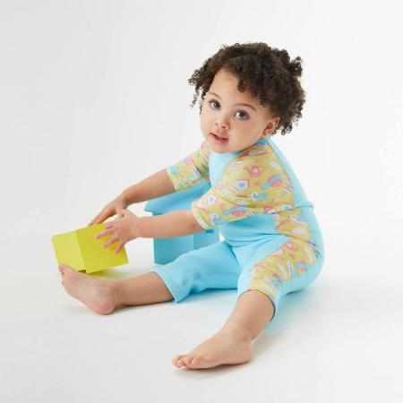 Costum protecție UV/neopren copii - UV Sun & Sea Păsări de Grădină3