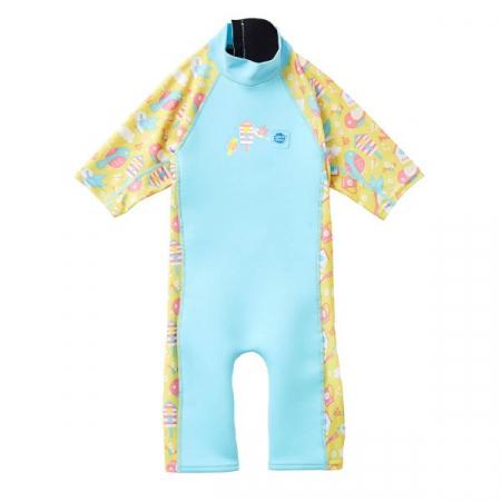 Costum protecție UV/neopren copii - UV Sun & Sea Păsări de Grădină0