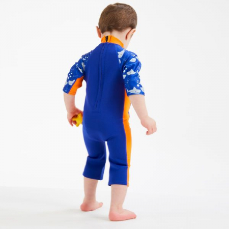 Costum protecție UV/neopren copii - UV Sun & Sea Rechinii Simpatici3